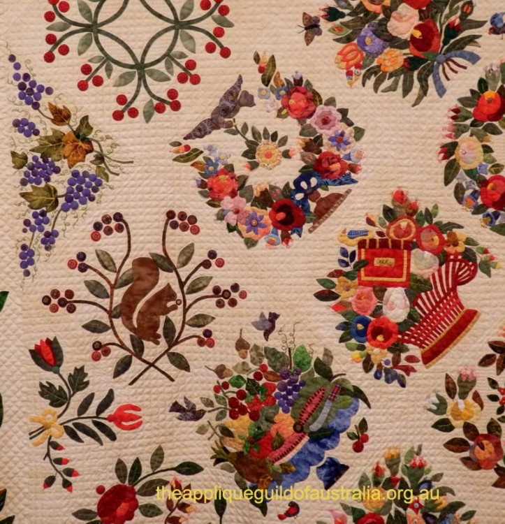 image of Margo Hardie's Quilt detail