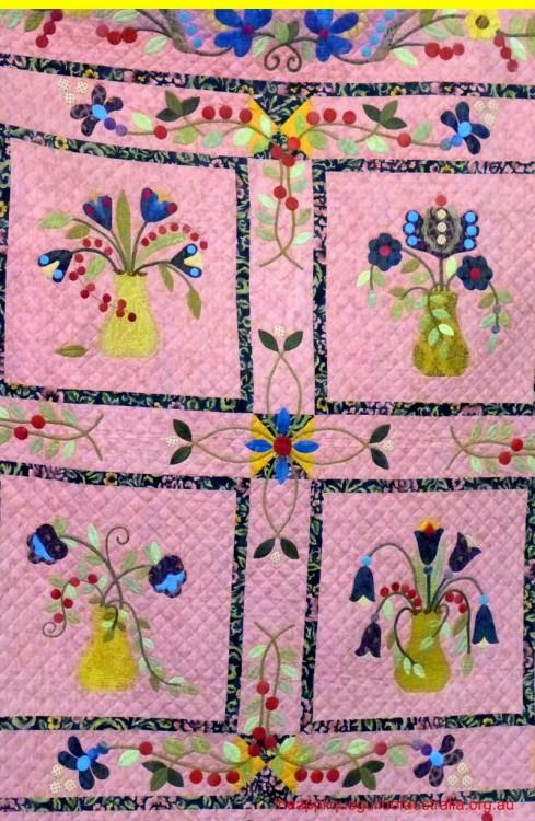 image of applique quilt
