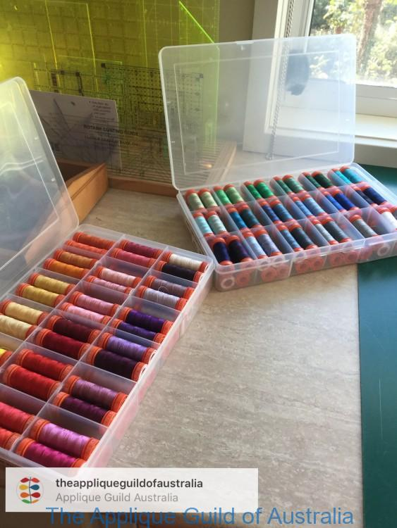 Aurifil in so so many colours.