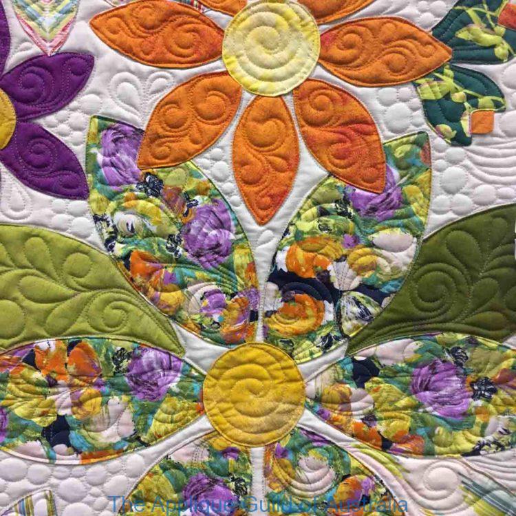 image of Flowering Wreath by Carolyn Murfitt (Detail)