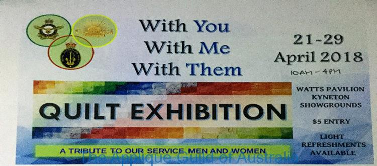 With You, With Me, With Them. Exhibition @ Watts Pavillion Kyneton Showgrounds  | Kyneton | Victoria | Australia